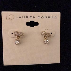 Hanging rhinestone bows lc Lauren Conrad
